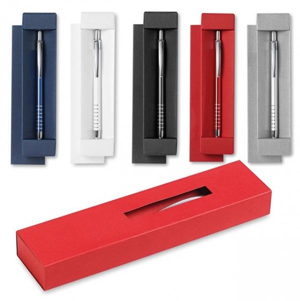 Długopis aluminiowy w pudełku  MO8522-16