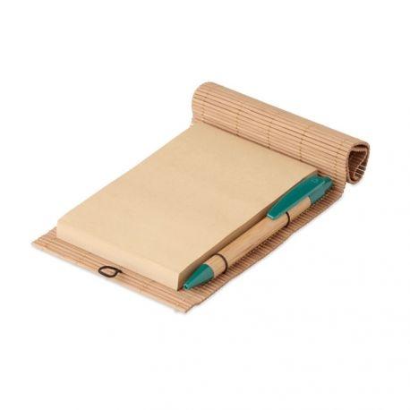 Bambusowy notatnik 80 kartek   MO9570-40