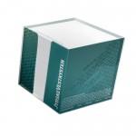 Pudełko PS z kartkami 100x100x100mm