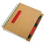 Notes 120x180/70k linia Eco, granatowy/beżowy