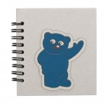 Notes 87x97/50k linia Blue Bear