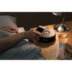 Bezprzewodowa ładowarka 5W, głośnik, budzik