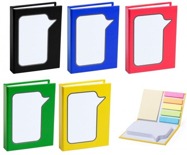 Zestaw do notatek, karteczki samoprzylepne