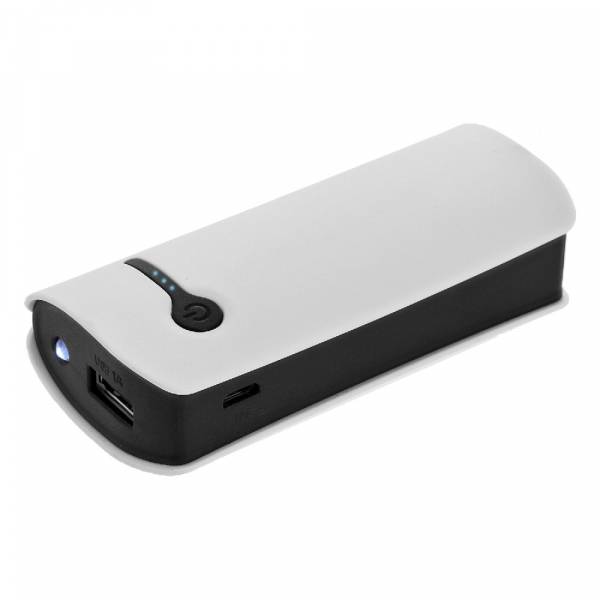 Power bank 5200 mAh z lampką