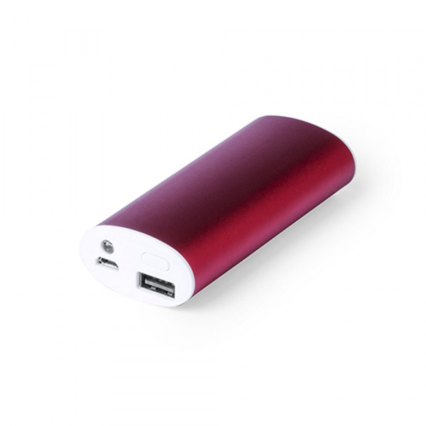 Power bank 4000 mAh, lampka LED