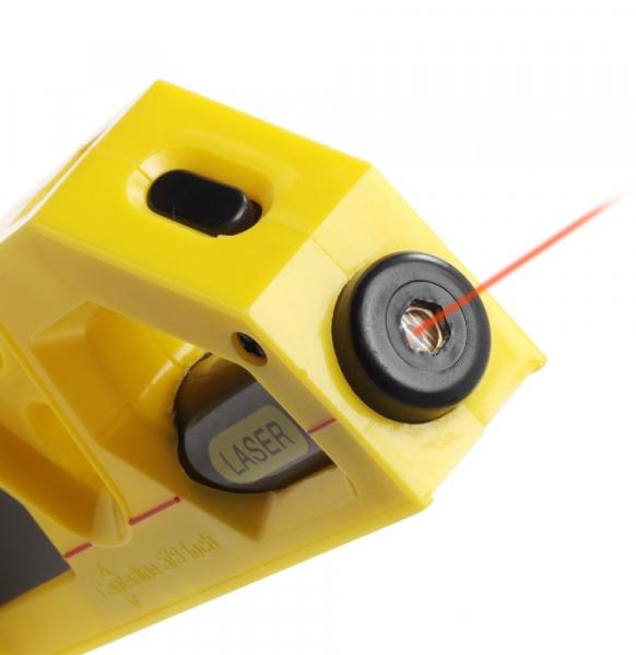 Miara 2m, poziomica i laser